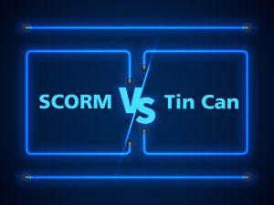 scorm, tin can