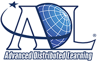 color logo for Advanced Distributed Learning, the stewards of total learning architecture