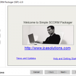 Simple SCORM Packager makes creating multi-SCO courses easy