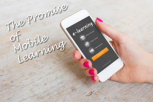 The promise of mobile learning